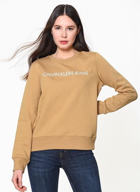 Calvin Klein Sweatshirt Kahve